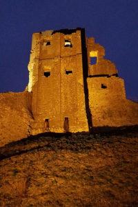 Corfe Castle Winter Lights
