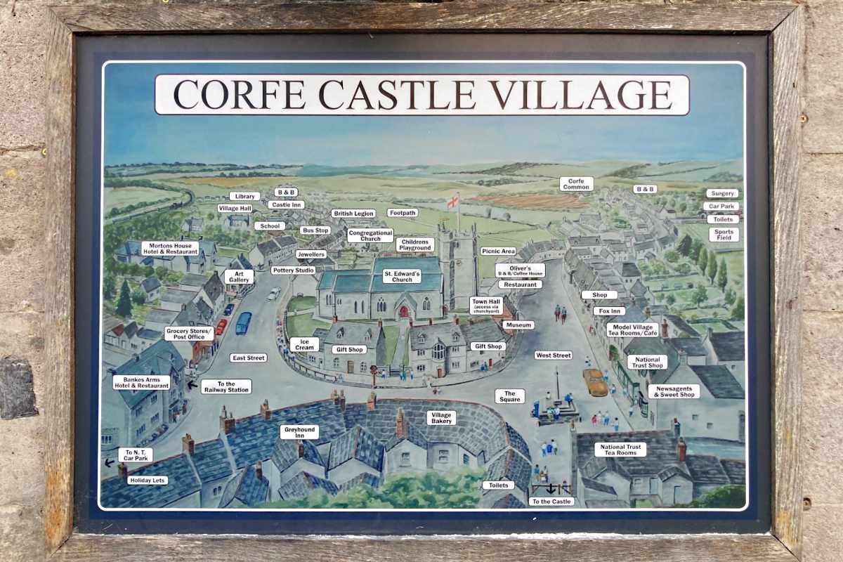 Corfe Castle Update