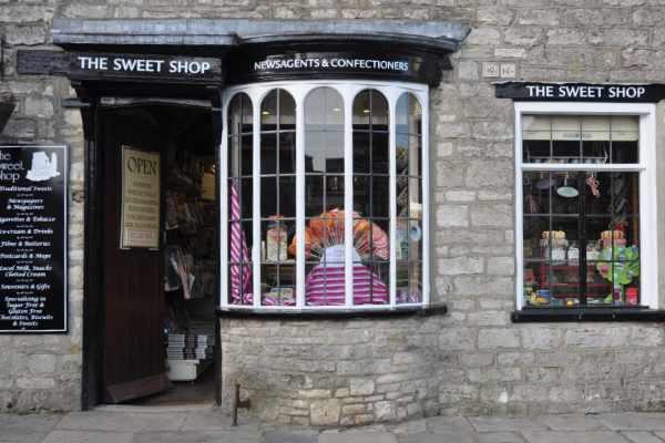 Corfe Castle Sweet Shop