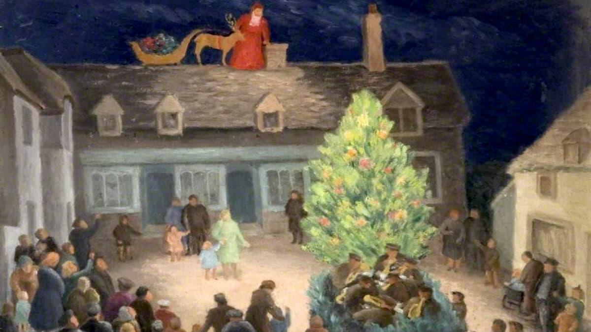 Christmas at Corfe Castle 2021