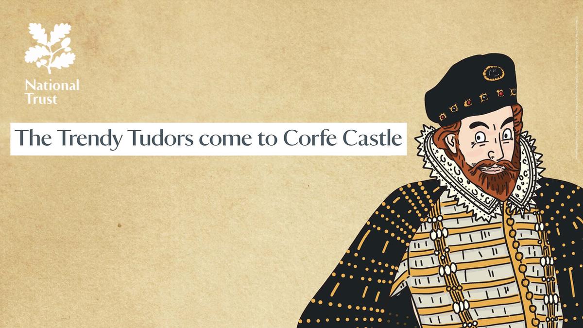 The Trendy Tudors Trail at Corfe Castle