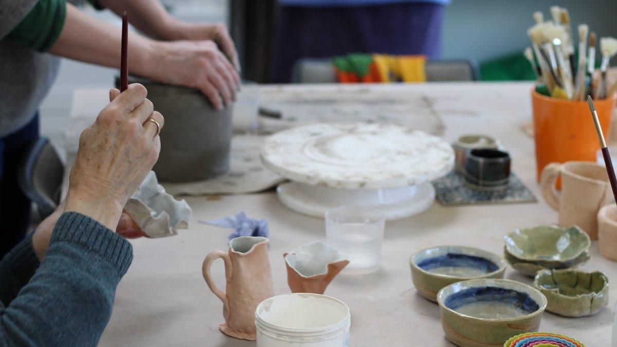 Evening Pottery Class at Furzebrook Studios