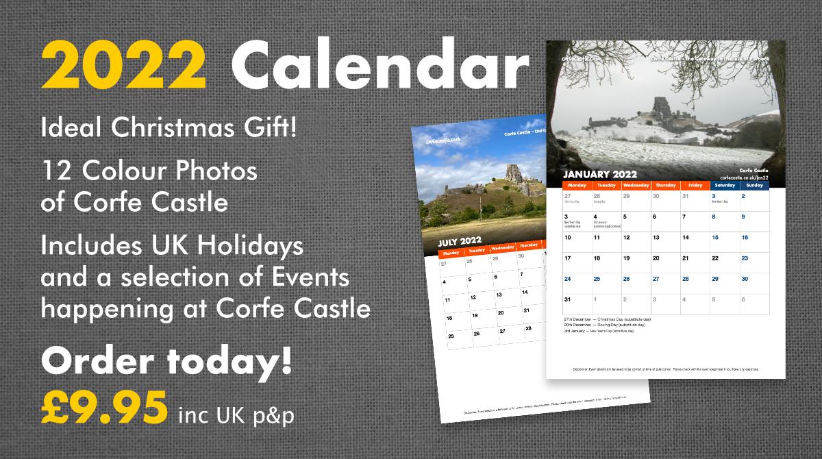 Corfe Castle 2022 Calendar