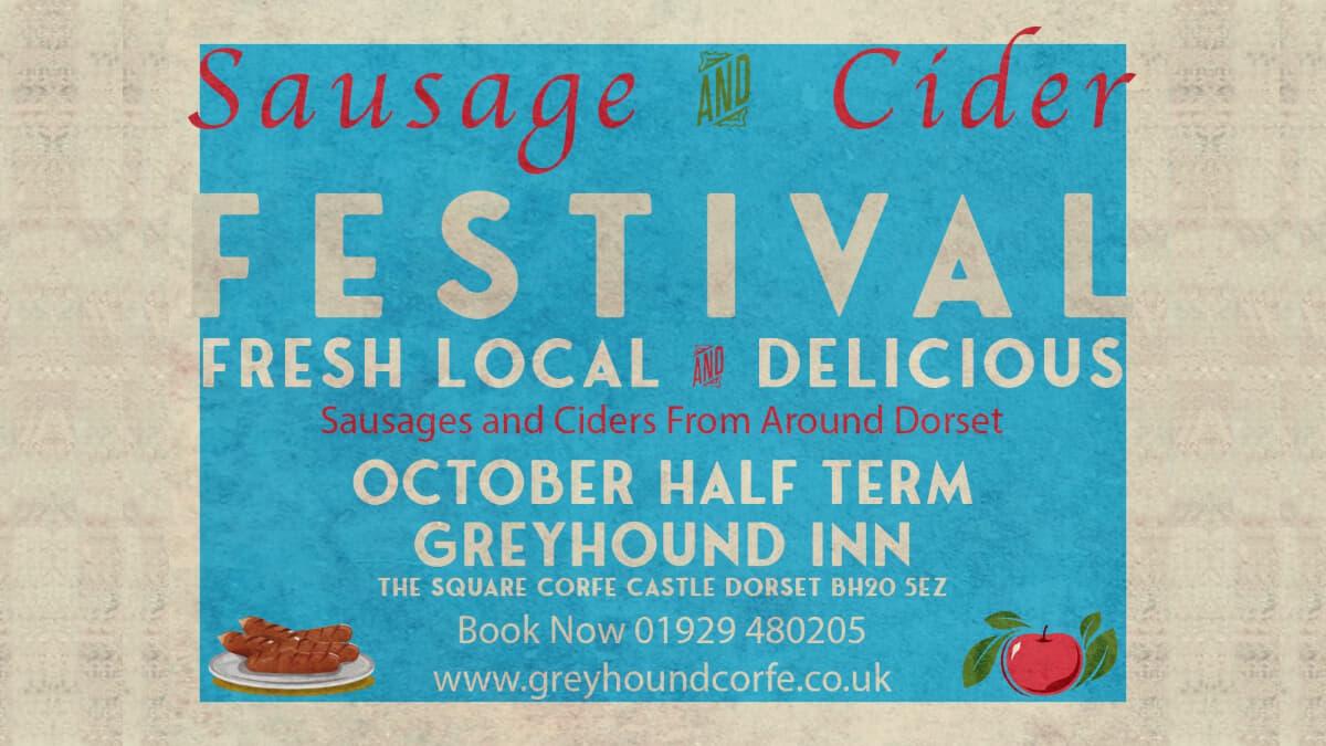 Sausage & Cider Festival at The Greyhound Inn